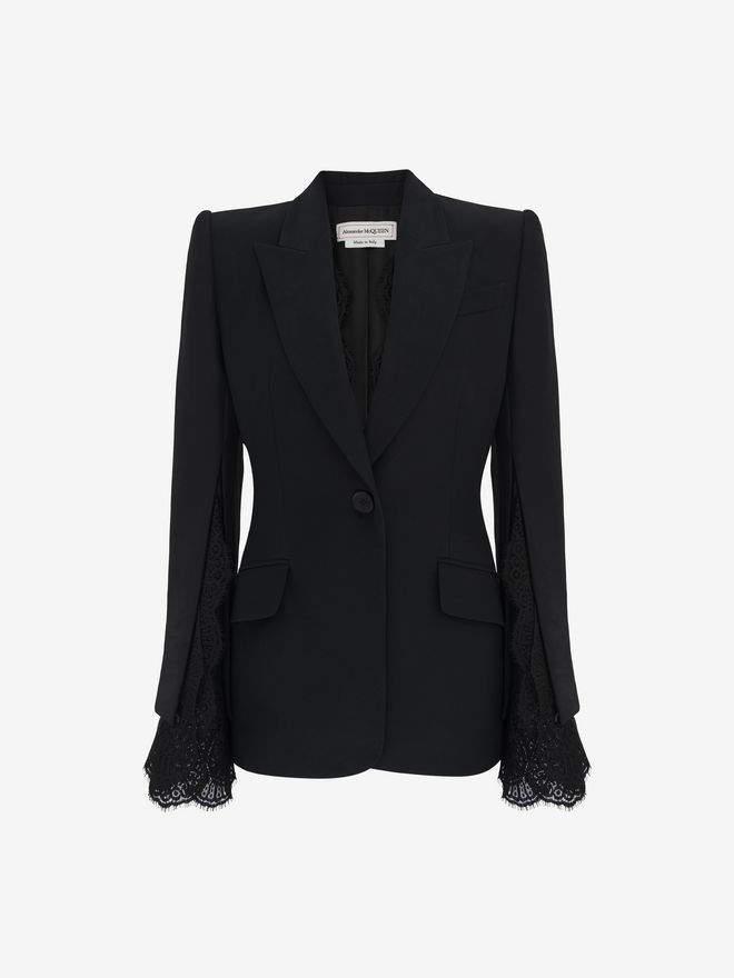 Alexander McQueen Slash Sleeve Jacket