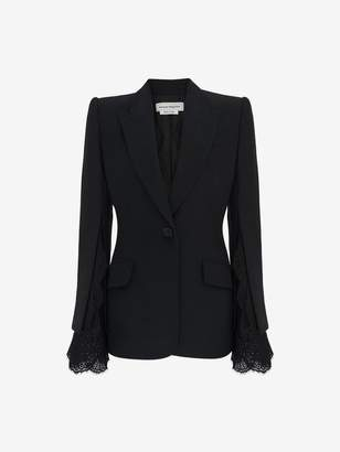 Alexander McQueen Slash Sleeve Jacket