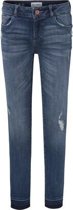 DL1961 Distressed Skinny Jeans