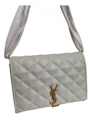 Saint Laurent White Leather Handbags
