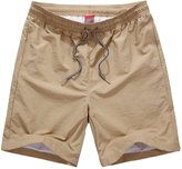 OCHENTA Men's Quick Dry Beachwear Swimming Trunks With Mesh Lining Asian 3XL - US XL