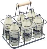 Kitchen Craft Living Nostalgia Wire Six Bottle Carrier