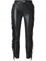 Saint Laurent fringed trousers