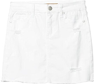 Joe's Jeans The Markie Skirt (Little Kids/Big Kids) (Bright White) Girl's Skirt