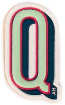 Anya Hindmarch 'Q' sticker