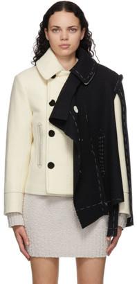Maison Margiela Off-White Deconstructed Memory Of Jacket