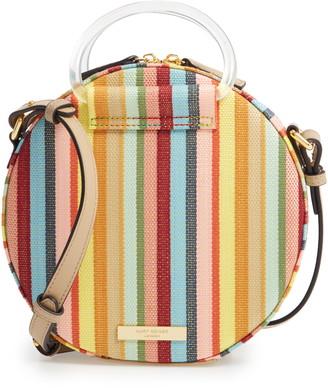 Kurt Geiger Harriet Round Striped Crossbody Bag