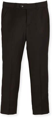 Appaman Slim Suit Pants, Black, Size 4-14