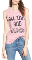 Junk Food Clothing Women's All This And More Muscle Tank