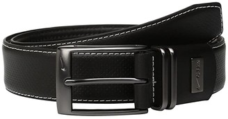 Nike Pin Dot Embossed w/ G-Flex (Black) Men's Belts