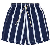 Solid & Striped The California Water Mill Blue Stripe Swim Shorts