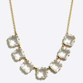 J.Crew Factory Mini crystal cube necklace