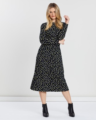 People Tree Henrietta Swallow Dress
