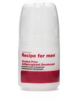Recipe For Men Recipe for Men - Alcohol Free Antiperspirant Roll On Deodorant 60ml
