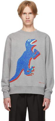 Paul Smith Grey Dino Regular Fit Sweatshirt