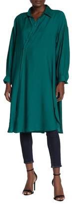 TOV Twist Front Midi Dress