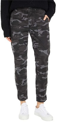 KUT from the Kloth Reese Ankle Straight with Pork Chop Pocket in Black/Grey (Black/Grey) Women's Jeans