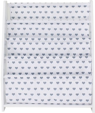 Lloyd Pascal Hammock Style Bookshelf with Printed Star Fabric