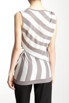 L.A.M.B. Yarn Dyed Linen Blend Stripe Tank
