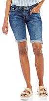 Big Star Remy Rolled Cuff Bermuda Denim Shorts