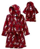 Leveret Unicorn Robe & Doll Robe (Toddler & Little Girls)