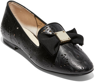 Cole Haan Tali Soft Bow Leather Loafer
