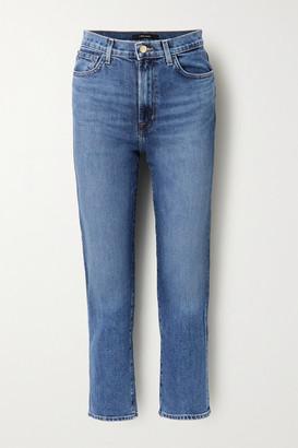 J Brand Jules High-rise Straight-leg Jeans - Blue