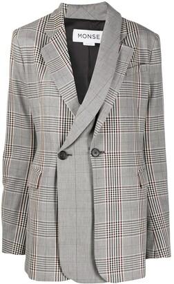 Monse Double-Breasted Layered Jacket