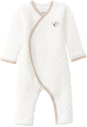 Burberry Thomas Bear Detail Quilted Cotton All-In-One