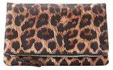 Charlotte Russe Leopard Print Zip Clutch