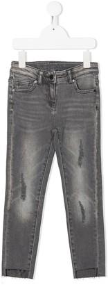 Stella McCartney Kids Distressed Skinny Jeans