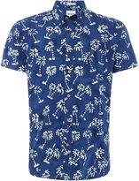 Wrangler Palm Tree Printed Short Sleeve Shirt