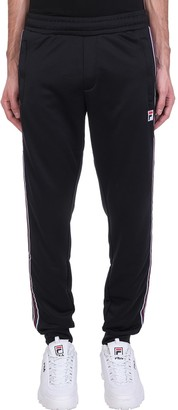 Fila Salih Pant Pants In Black Cotton