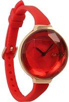 RumbaTime Women's Orchard Gem Mini Ruby Analog Display Stylish Japanese Quartz Watch