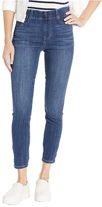 Liverpool Chloe Pull-On Crop Skinny in Edgewater (Edgewater) Women's Jeans