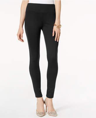 INC International Concepts Inc Petite Curvy-Fit Ponte-Knit Pants