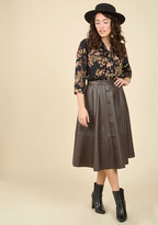 A-List Attendee Midi Skirt in S