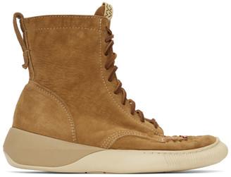 Visvim Tan Nabi Moc Hi-Folk Sneakers