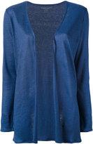 Majestic Filatures open-front cardigan - women - Linen/Flax - I