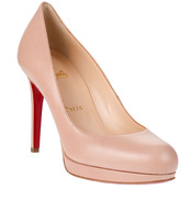 Christian Louboutin New Simple Pump 100 nude leather CLASSIC
