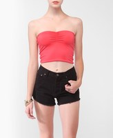 Forever 21 Ruched Tube Top