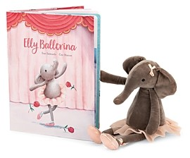 Jellycat Elly Ballerina Book - Ages 0+