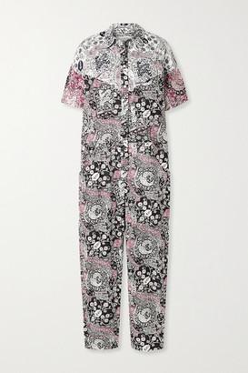 Etoile Isabel Marant Udena Printed Cotton-voile Jumpsuit