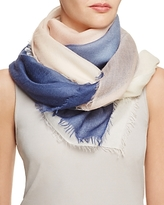 Jane Carr The Wave Carre Wool Scarf