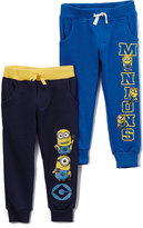 Children's Apparel Network Despicable Me Minions Navy Sweatpants Set - Toddler