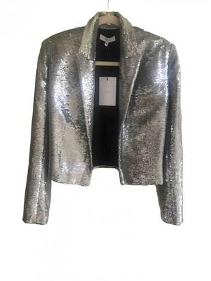 IRO Silver Glitter Jackets