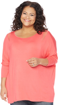 Motherhood Plus Size Fit And Flare Maternity T Shirt