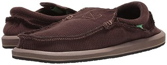 Sanuk Chiba Weava (Brown) Men's Shoes