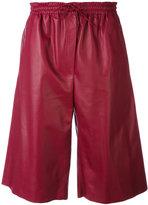 Joseph drawstring knee-length shorts - women - Nappa Leather - 42