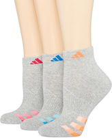 adidas 3-pk Cushion Low-Cut Socks